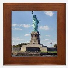 The Statue of Liberty Framed Tile