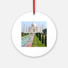 Taj Mahal Round Ornament