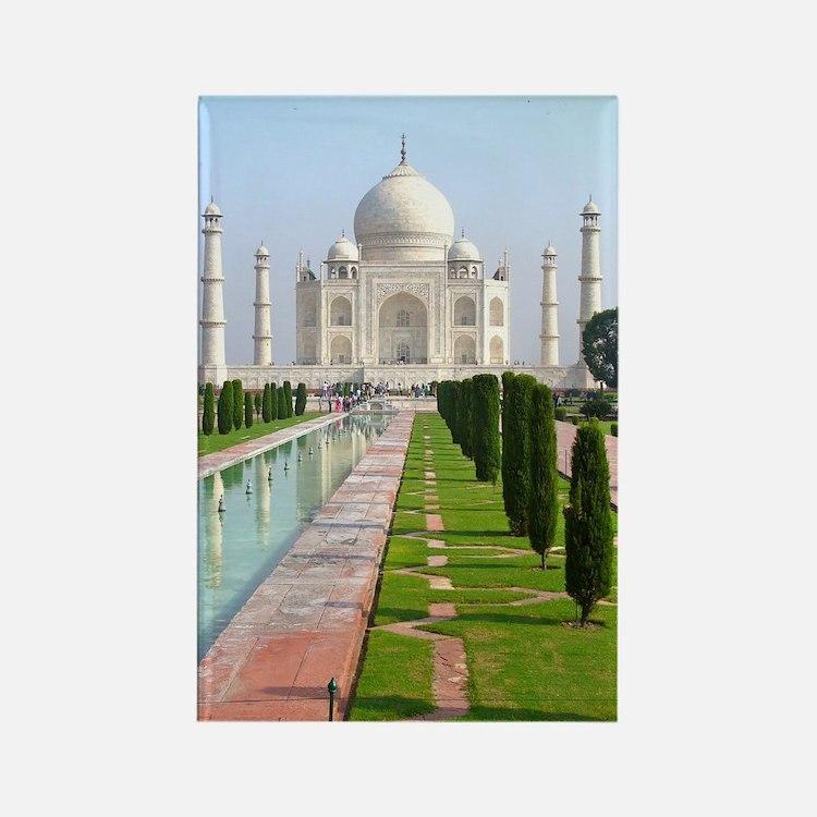 Taj Mahal Rectangle Magnet