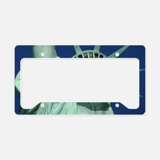 Statue of Liberty License Plate Holder