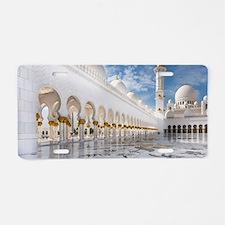 Sheikh Zayed Mosque Aluminum License Plate