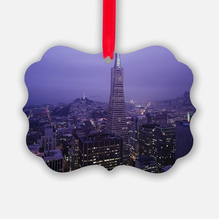 San Francisco Downtown Ornament