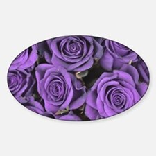 Purple Roses Decal