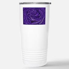 Purple Roses Travel Mug