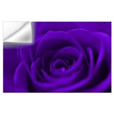 Purple Roses Wall Decal