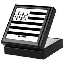 Brittany Flag Keepsake Box