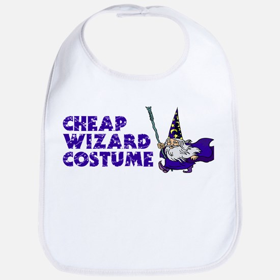 Cheap Wizard Costume Bib
