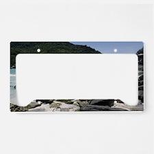 Phuket beach License Plate Holder