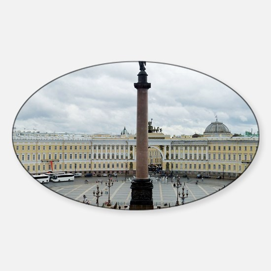 Palace Square Sticker (Oval)