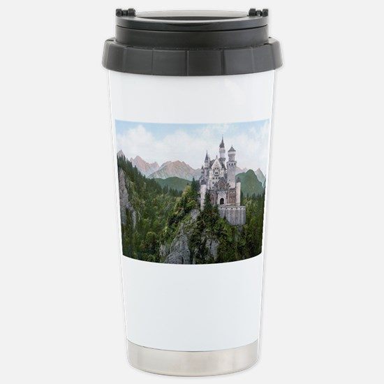 Neuschwanstein Castle Stainless Steel Travel Mug