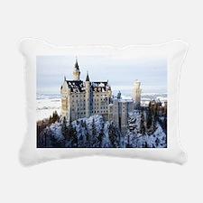 Neuschwanstein Castle Rectangular Canvas Pillow
