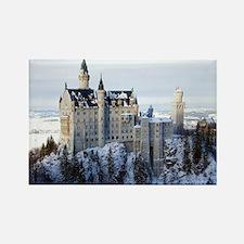Neuschwanstein Castle Rectangle Magnet