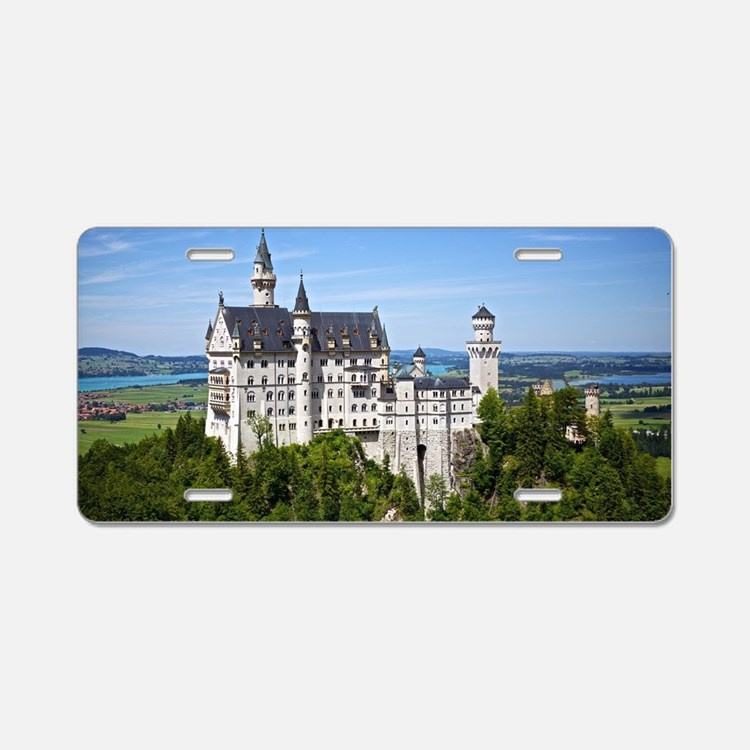 Neuschwanstein Castle Aluminum License Plate