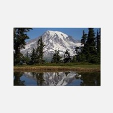 Mount Rainier Rectangle Magnet