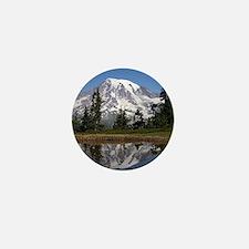 Mount Rainier Mini Button