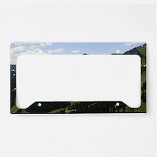 Mount Rainier License Plate Holder