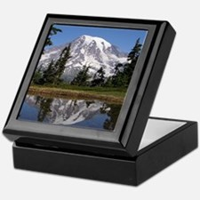 Mount Rainier Keepsake Box