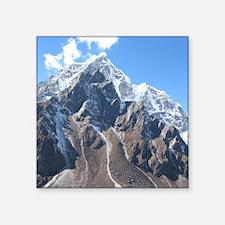 "Mount Everest Square Sticker 3"" x 3"""