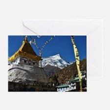 Mount Everest Greeting Card