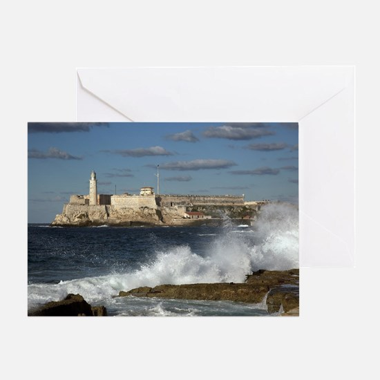 Morro Castle Greeting Card