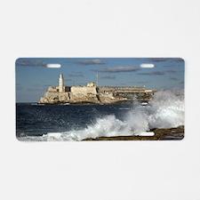 Morro Castle Aluminum License Plate
