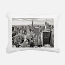 Manhattan Rectangular Canvas Pillow