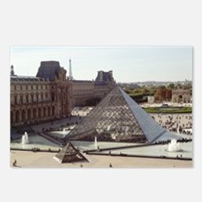 Louvre Pyramid Postcards (Package of 8)