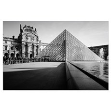Louvre Pyramid Poster