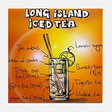 Long Island Iced Tea Tile Coaster
