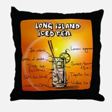Long Island Iced Tea Throw Pillow