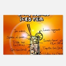 Long Island Iced Tea Postcards (Package of 8)
