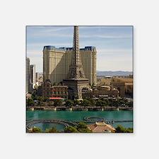 """Las Vegas strip Square Sticker 3"""" x 3"""""""
