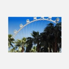 Las Vegas Ferris Wheel Rectangle Magnet