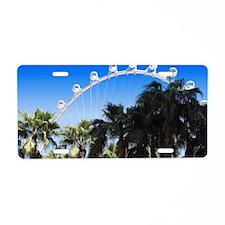 Las Vegas Ferris Wheel Aluminum License Plate