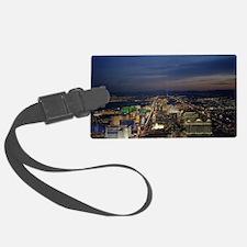 Las Vegas by Night Luggage Tag