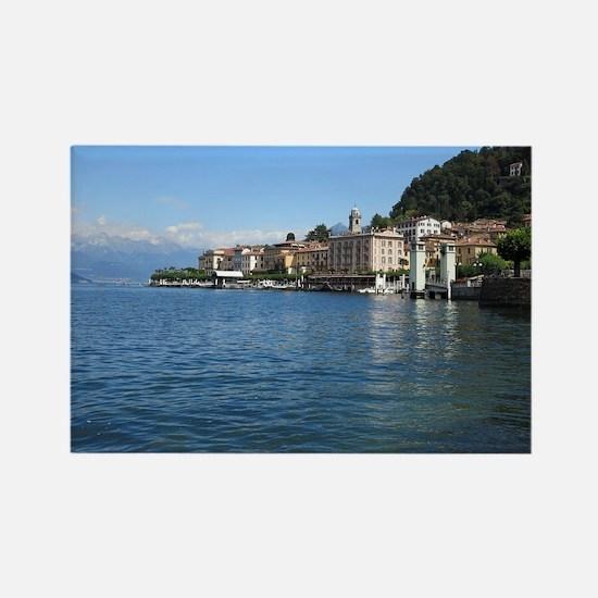 Lake Como Rectangle Magnet