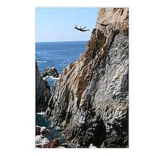 La Quebrada Cliff Divers Postcards (Package of 8)
