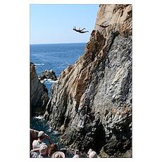 La Quebrada Cliff Divers Poster