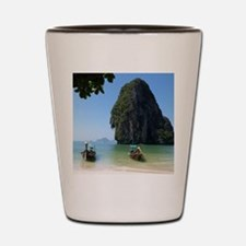 Krabi beach Shot Glass
