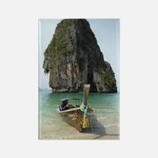 Krabi beach Rectangle Magnet