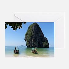 Krabi beach Greeting Card