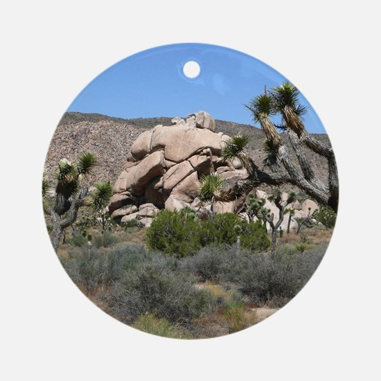 Joshua Tree National Park Round Ornament