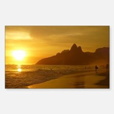 Ipanema beach Decal