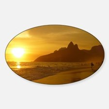 Ipanema beach Decal