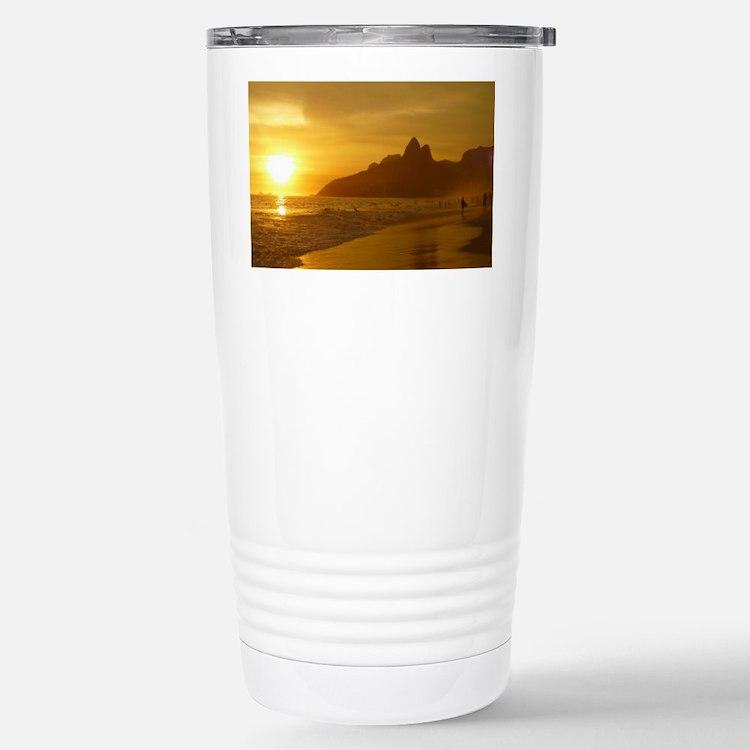 Ipanema beach Travel Mug