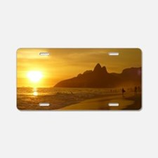 Ipanema beach Aluminum License Plate