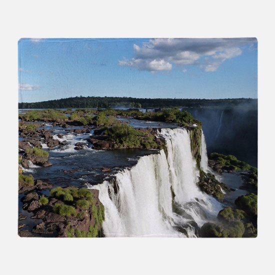 Iguazu Falls Throw Blanket