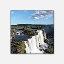 "Iguazu Falls Square Sticker 3"" x 3"""