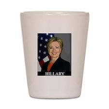 Hillary Shot Glass