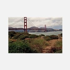 Golden Gate Bridge Rectangle Magnet